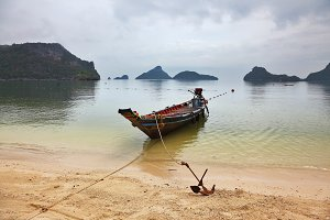 Thai Longtail boat