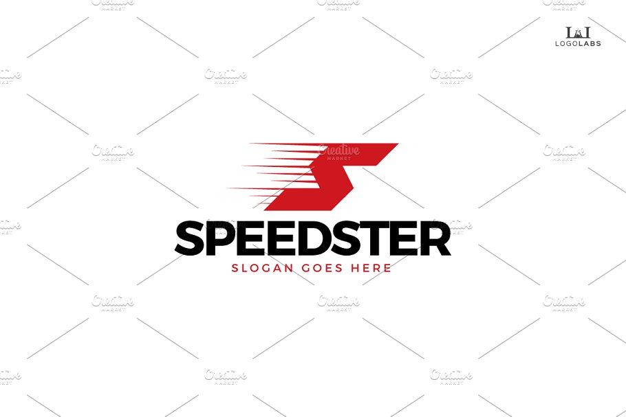 Speedster - Letter S Logo
