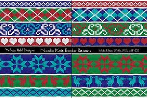 Nordic Knit Border Patterns