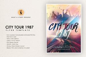 City Tour 1987