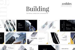 Building - template presentation PPT