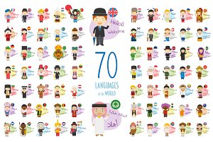 70 Languages of the World