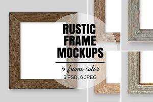 Rustic Frame Mockups