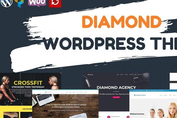 Diamond Multi-Purpose WP Theme