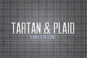 Seamless Plaid and Tartan Patterns