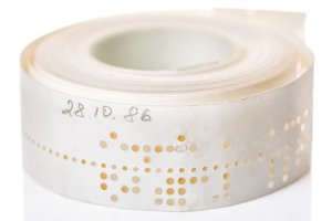 perforated punched tape