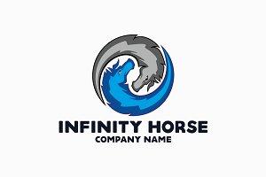 Infinity Horse Logo