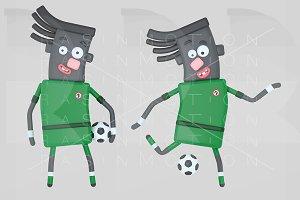 Nigeria soccer player