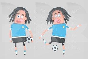 Uruguay soccer player