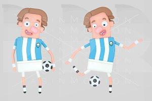 Argentina soccer player