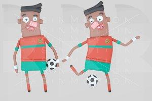 Morocco player soccer