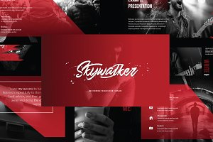 Skywalker Modern Powerpoint Template
