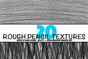 20 Pencil Textures