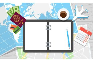 world travel notebook