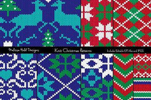 Knit Christmas Patterns