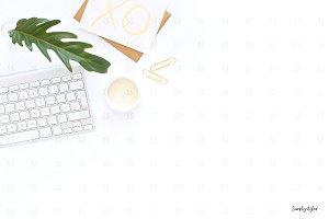 Desktop styled stock