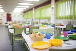 school dining room