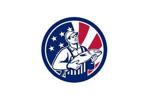 American Fishmonger USA Flag