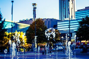 Fountain in Atlanta