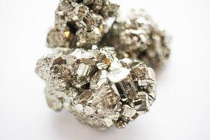 Pyrite Macro Image