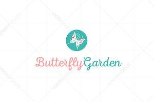 Butterfly Garden Logo