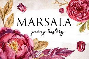 MARSALA peony history