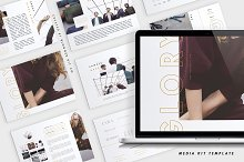 Media Kit + Sponsorship Set | Glory  by  in Resumes