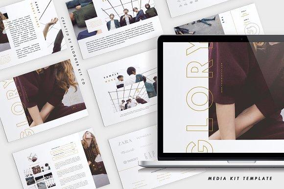 Media Kit + Sponsorship Set | Glory