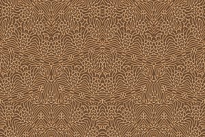 Intricate Ornate Seamless Pattern Design