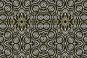 Modern Bold Geometric Seamless Pattern