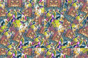 Multicolored Grunge Collage