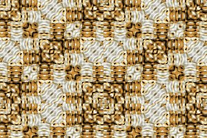 Textured Patchwork Seamless Mosaic