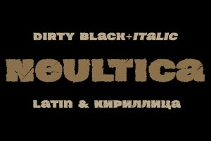 Neultica 4F Dirty Black