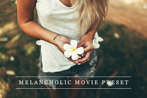 Melancholic movie - Lightroom preset