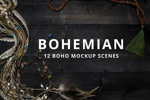 Mockups, Boho Product Background
