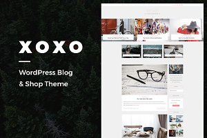 XOXO - A Blog & Shop Theme