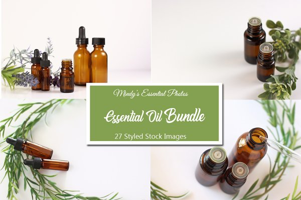 Essential Oil Styled Photo Bundle