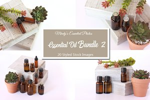 Essential Oil Styled Photo Bundle 2
