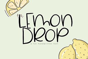 Lemon Drop - Fun & Quirky Font