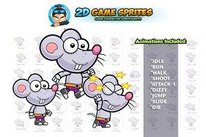 Rat 2D  Game Sprites