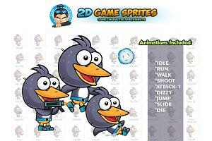 Penguin 2D Game Sprites