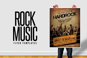 Rock Music Flyer Templates