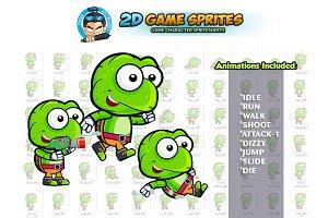 Turtle 2D Game Sprites