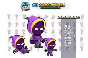 Dark Mage 2D Game Sprites