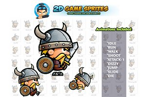 Viking 2D Game Sprites