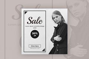 Sale Design Instagram Banner