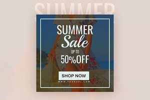 Summer Sale Instagram Banner