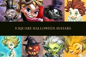 8 Halloween Avatars