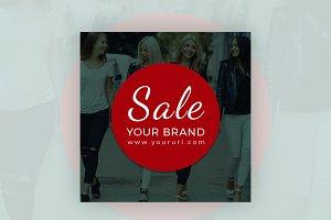 Sale Your Brand Instagram Banner
