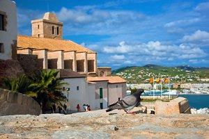 Old city of Ibiza (Eivissa)